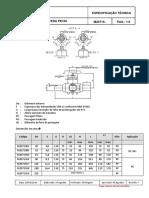 Gas Brasiliano - M 20719-2014 - Válvula Esfera PE100