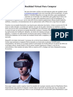 Mejores Lentes De Realidad Virtual Para Comprar