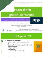 Green data – Green software