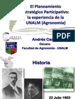 Andres Casas - Planeamiento Estrategico Participativo La Exp