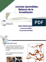 Jaime Zarate - CONEAU
