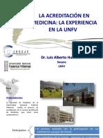 Luis Huarachi - Acreditacion en Medicina La Experiencia en l
