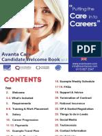 Candidate Welcome Book_Avanta ENGLISH