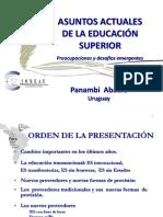Panmabi Abadie - Asuntos Actuales de La ED SUP