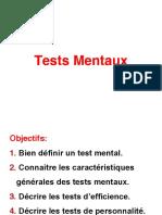 1 l'Évaluation en Psychologie Les Tests (2h)