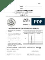Cover Ujian Sains K2 THN 5