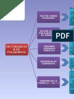 Mapa Conceptual Casos de Factorizacion