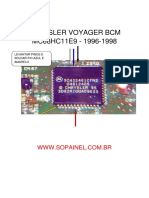 Chrysler Voyager Bcm Mc68hc11e9