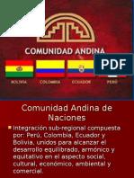 Comunidad Andina.