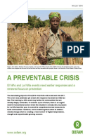 A Preventable Crisis: El Niño and La Niña events need earlier responses and a renewed focus on prevention