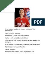 Arjen Robben!