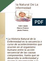 Historia Natural de La Enfermedad. Exposicion