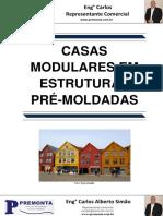 Casas Modulares em Estruturas Pré-Moldadas
