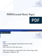 PHP(Personal Home Page).ppt