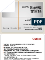 5. Sistem Pelayanan Kesehatan di Indonesia  Poltekkes Bandung 2 November 2014.ppt