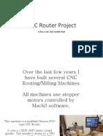 Cnc Router Project