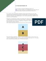 Digitalizar Uma Folha A3 Com Um Scanner A4