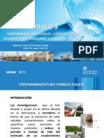 Contaminantes No Visibles en Superficies de Acero y No Porosas