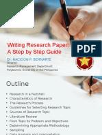 CCP Research Lecture - Dr. Bernarte