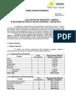 Informe 433_Custos de RSL de Milho Safrinha e Trigo 2013