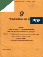 9 Proven Magickal Rites