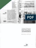 Herramientas Para Elaborar Tesisi e Investigaciones Socioeducativas (Oscar Zapata)