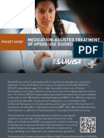 Medication Assisted Treatment of Opiod Use Disorders