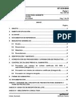 NT-1036-1 Parte 1 Conjunto de Transicion Para Gabinete Con Vaina de Proteccion