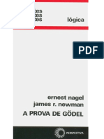 A Prova de Gödel - Ernest Nagel; James R. Newman