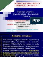 Sistemas Vivientes – Características – Composición Química.pptx