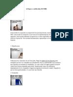 Etapas a Certificatión ISO 9001