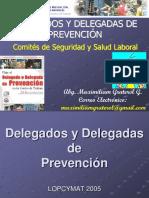 Charla de Delegados y Delegadas de Prevención en PDF