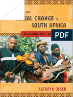 Music and Social Change in South Africa