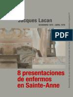 8 Presentaciones de Enfermos en Sainte-Anne [Jacques Lacan]