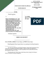 Moore v. Berg Enterprises, 10th Cir. (1999)