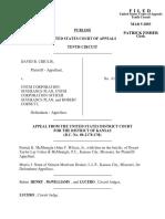 Cirulis v. UNUM Corporation, 321 F.3d 1010, 10th Cir. (2003)