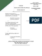 Stillman v. Teachers Insurance, 343 F.3d 1311, 10th Cir. (2003)