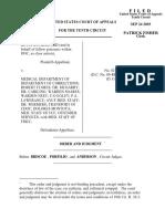 Rutherford v. Colorado Department, 10th Cir. (2003)