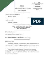 United States v. Sanders, 372 F.3d 1183, 10th Cir. (2004)