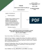 Fitzgerald v. Corrections Corp., 403 F.3d 1134, 10th Cir. (2005)