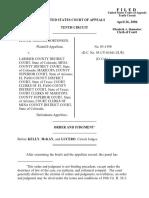 Nortonsen v. Larimer County, 10th Cir. (2006)