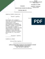 Medical Supply Chain v. Neoforma, Inc., 10th Cir. (2007)