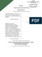 Moore v. BOARD, COUNTY COM'RS, COUNTY, LEAVENWORTH, 507 F.3d 1257, 10th Cir. (2007)