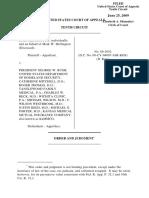Heffington v. Bush, 10th Cir. (2009)