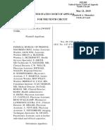 York v. Federal Bureau of Prisons, 10th Cir. (2010)