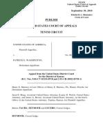 United States v. Washington, 619 F.3d 1252, 10th Cir. (2010)