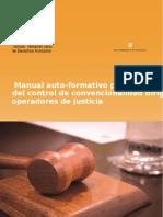 Manual Auto Formativo Para La Aplicación Del Control de Convencionalidad