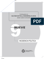 Modulo 9. Incidencia Política