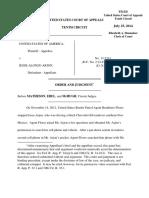 United States v. Arjon, 10th Cir. (2014)