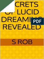 S Rob-Secrets of Lucid Dreaming Revealed-Werevamp Media Ltd (2014)